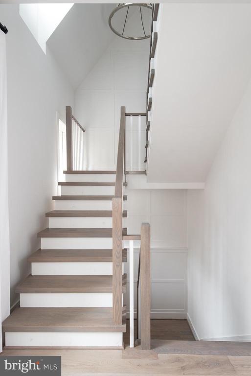 Handmade stairs & railings - 1015 D ST NE #1, WASHINGTON