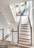 Floating staircase, custom made. - 1015 D ST NE #B, WASHINGTON