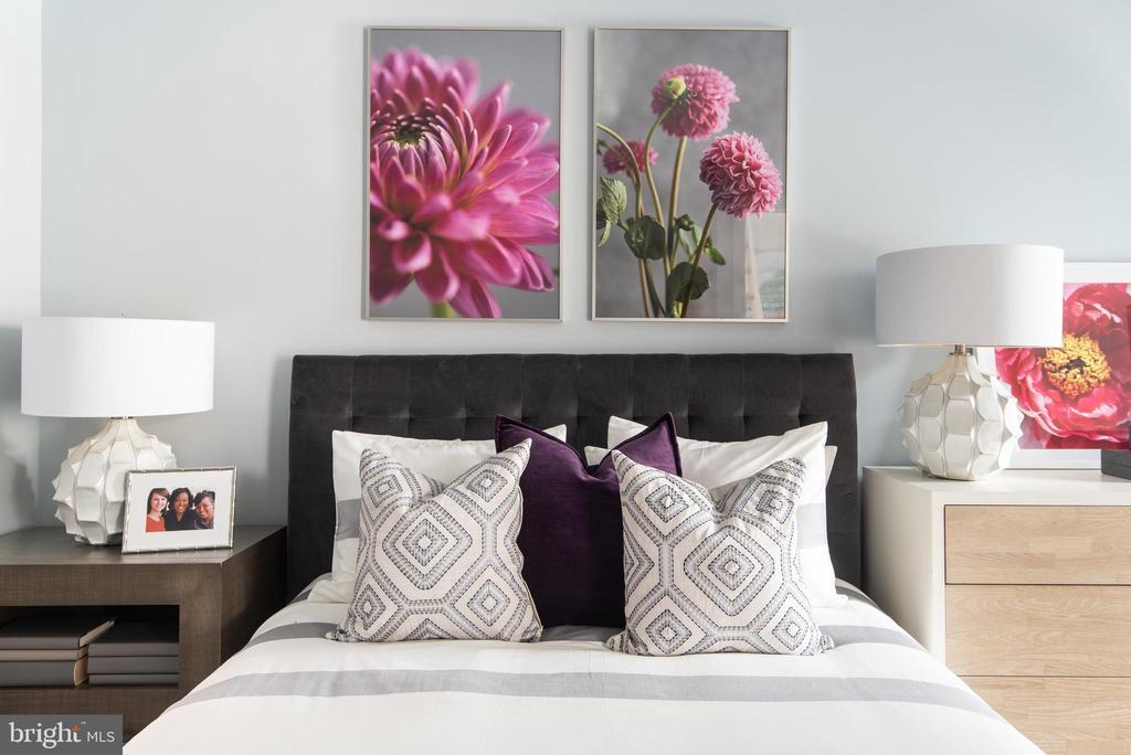 Guest Bedroom #2 with full bath - 1015 D ST NE #B, WASHINGTON