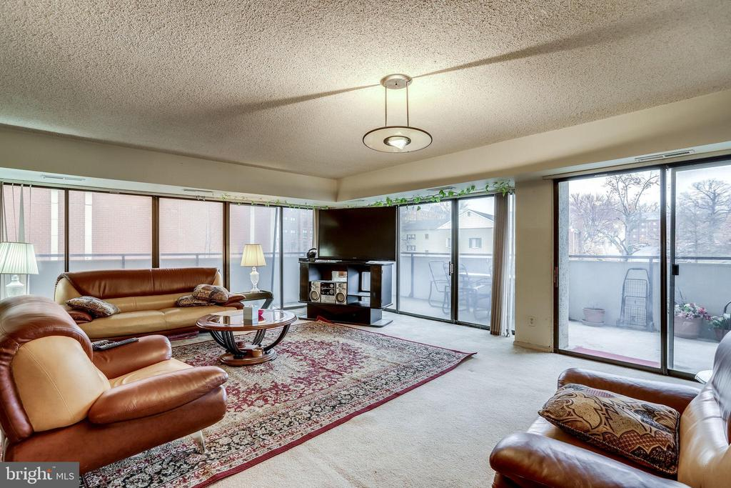 huge living room - 5300 COLUMBIA PIKE #315, ARLINGTON