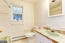 Upper Level Hall Bath - 12901 JESSE SMITH RD, MOUNT AIRY