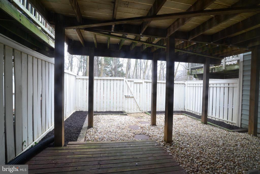 Fenced Yard - 1485 AUTUMN RIDGE CIR, RESTON