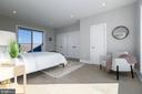 3rd bdr OR family room w/full bath & large closet - 2812 GEORGIA AVE NW #9, WASHINGTON