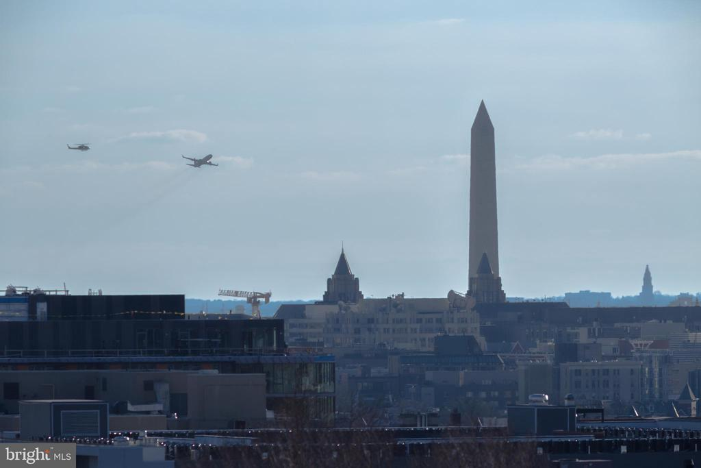 Monument Views from penthouse terrace! - 2812 GEORGIA AVE NW #9, WASHINGTON