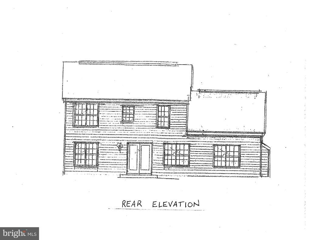 Rear Elevation - 10825 BAKER RD, KEYMAR