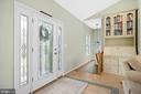LEADED GLASS FRONT DOOR - 9630 SOUTHLAKE DR, SPOTSYLVANIA