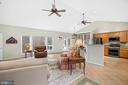 CATHEDRAL CEILINGS IN THE GREAT ROOM - 9630 SOUTHLAKE DR, SPOTSYLVANIA