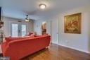 Ceiling Fan & French Doors - 15805 DICKERSON PL, DUMFRIES