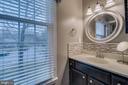 Bathroom 2 w/ Window - 15805 DICKERSON PL, DUMFRIES