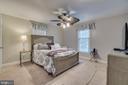 Upstairs Master Bedroom - 15805 DICKERSON PL, DUMFRIES