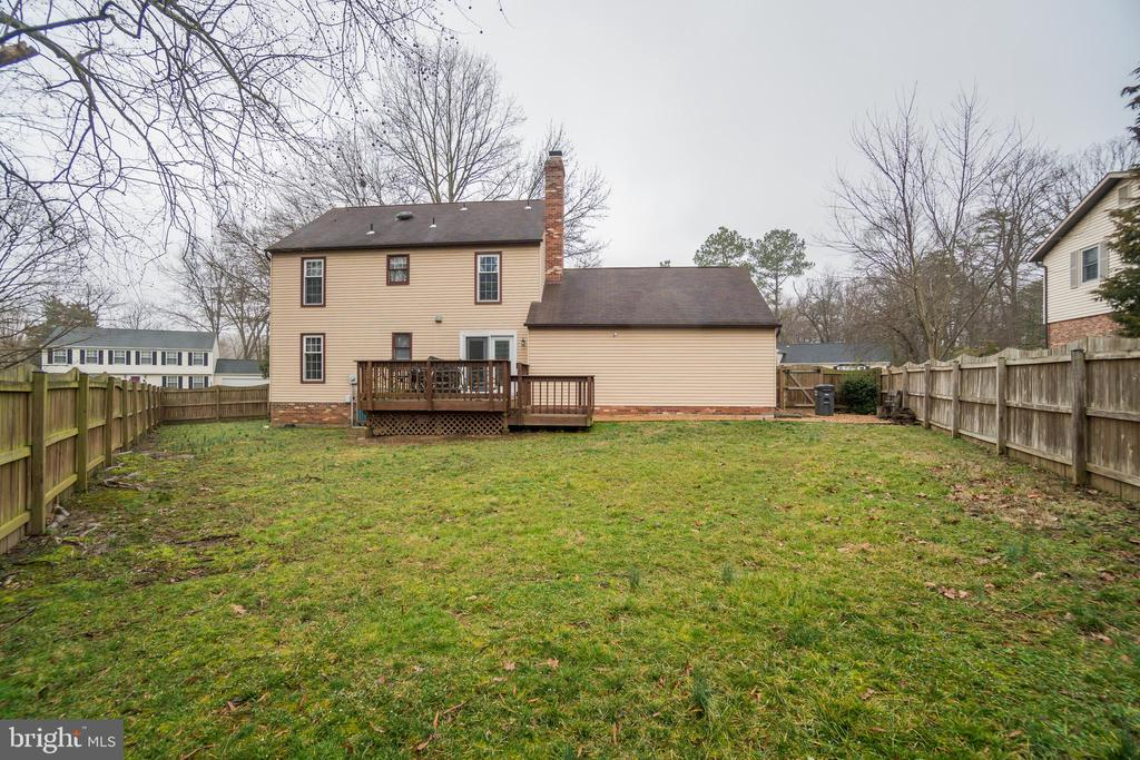 Privacy Fenced In Backyard - 15805 DICKERSON PL, DUMFRIES