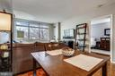 Dining Area/Living Room - 7111 WOODMONT AVE #412, BETHESDA