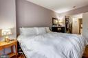 Bedroom - 7111 WOODMONT AVE #412, BETHESDA