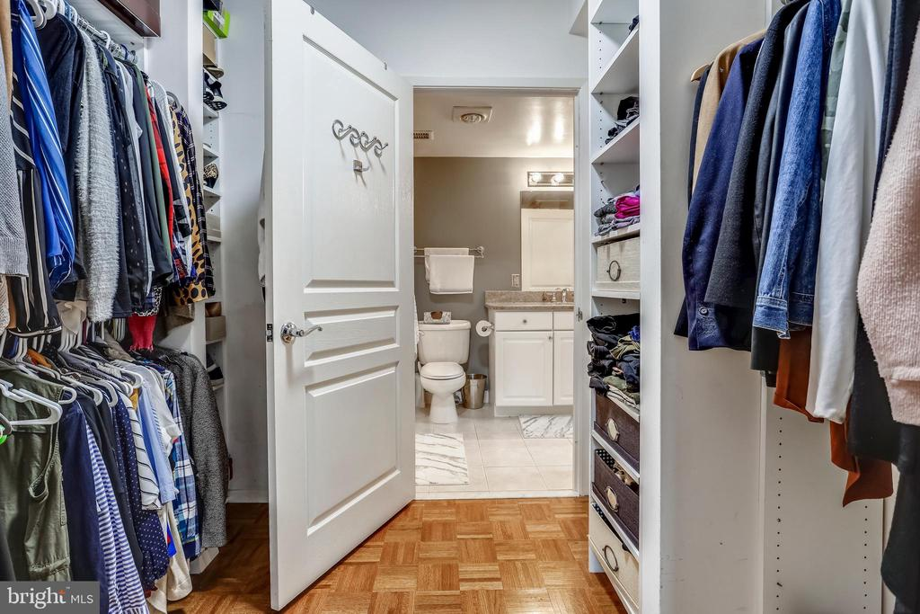 Walk-In Closet (Master) - 7111 WOODMONT AVE #412, BETHESDA