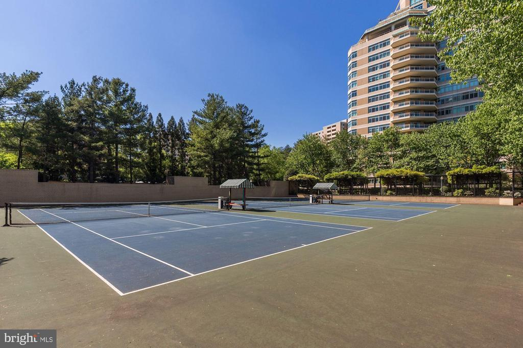 Tennis courts - 5600 WISCONSIN AVE #1308, CHEVY CHASE