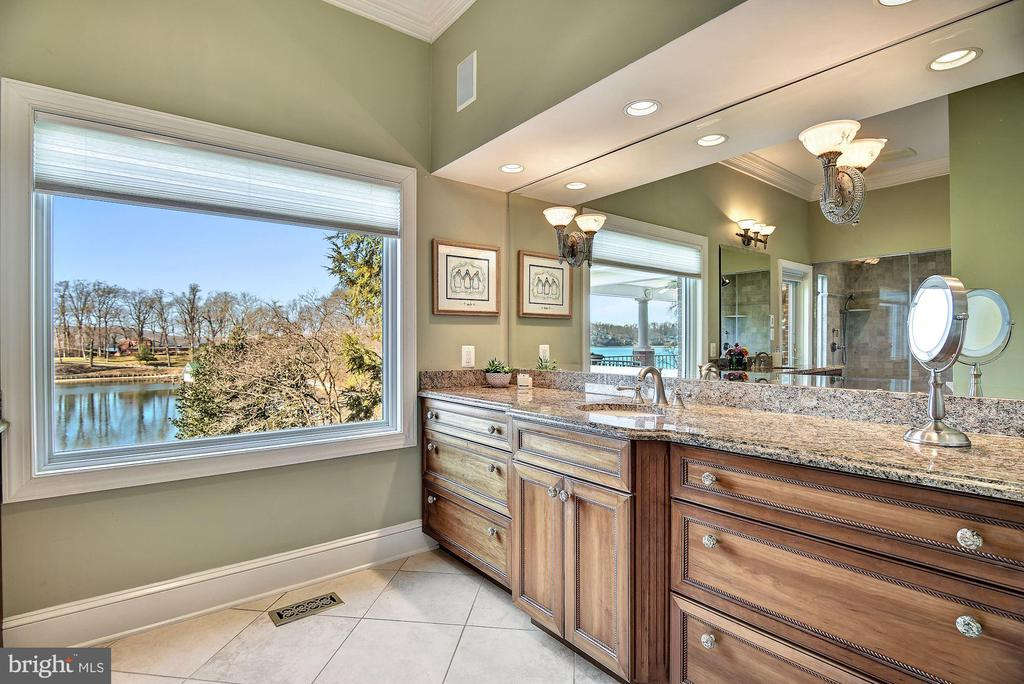 Master Bath, Separate Vanities & Picture Window - 1128 ASQUITH DR, ARNOLD