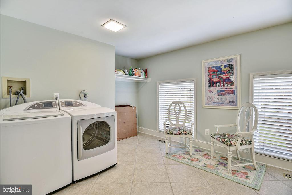 Large Laundry Room, Utility Sink & Storage Closet - 1128 ASQUITH DR, ARNOLD