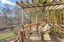 Deck w/ pergola and swing - 9 BROOKMEADE CT, STERLING