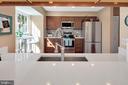 Pass thru into renovated kitchen.... - 9 BROOKMEADE CT, STERLING
