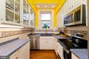 Kitchen with stainless steel appliances - 202 S WASHINGTON ST, WINCHESTER