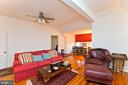 Family room/bedroom on 3rd level - 202 S WASHINGTON ST, WINCHESTER