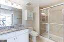 Master Bath - 11800 SUNSET HILLS RD #1108, RESTON