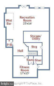 Lower Level Floor Plan - 47640 PAULSEN SQ, STERLING