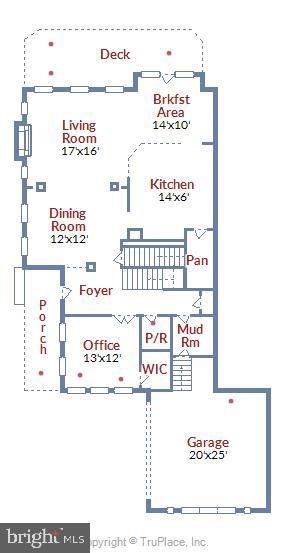 Main Level Floor Plan - 47640 PAULSEN SQ, STERLING