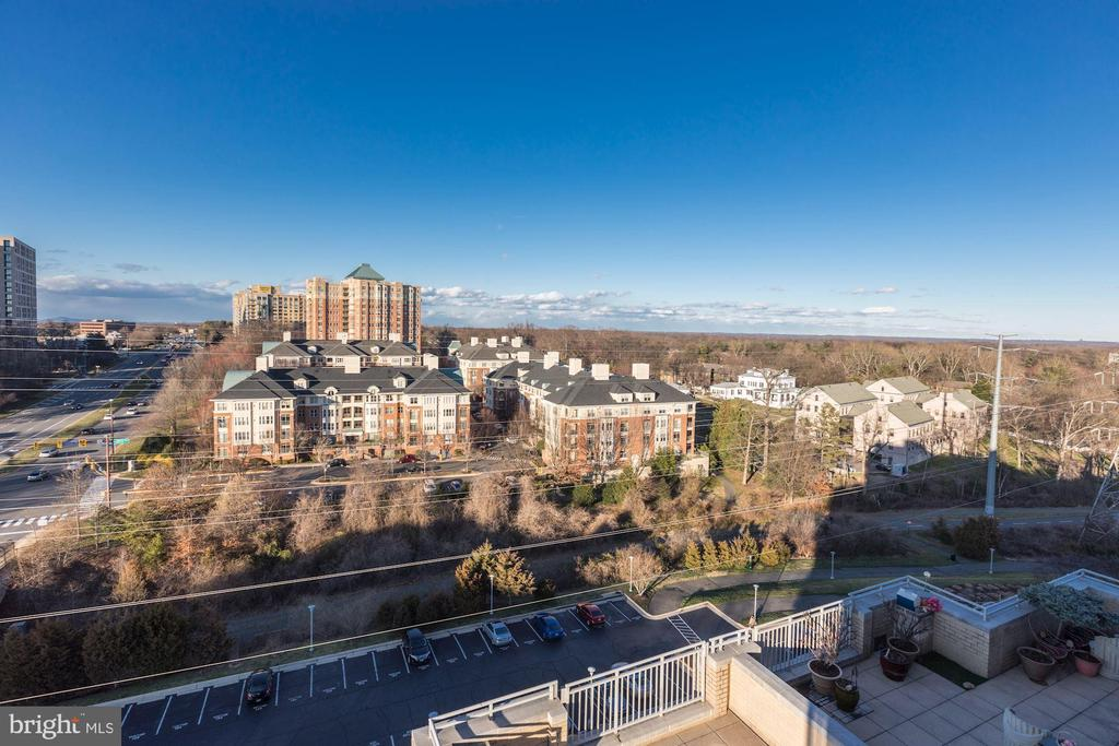 View from Balcony - 11800 SUNSET HILLS RD #1108, RESTON