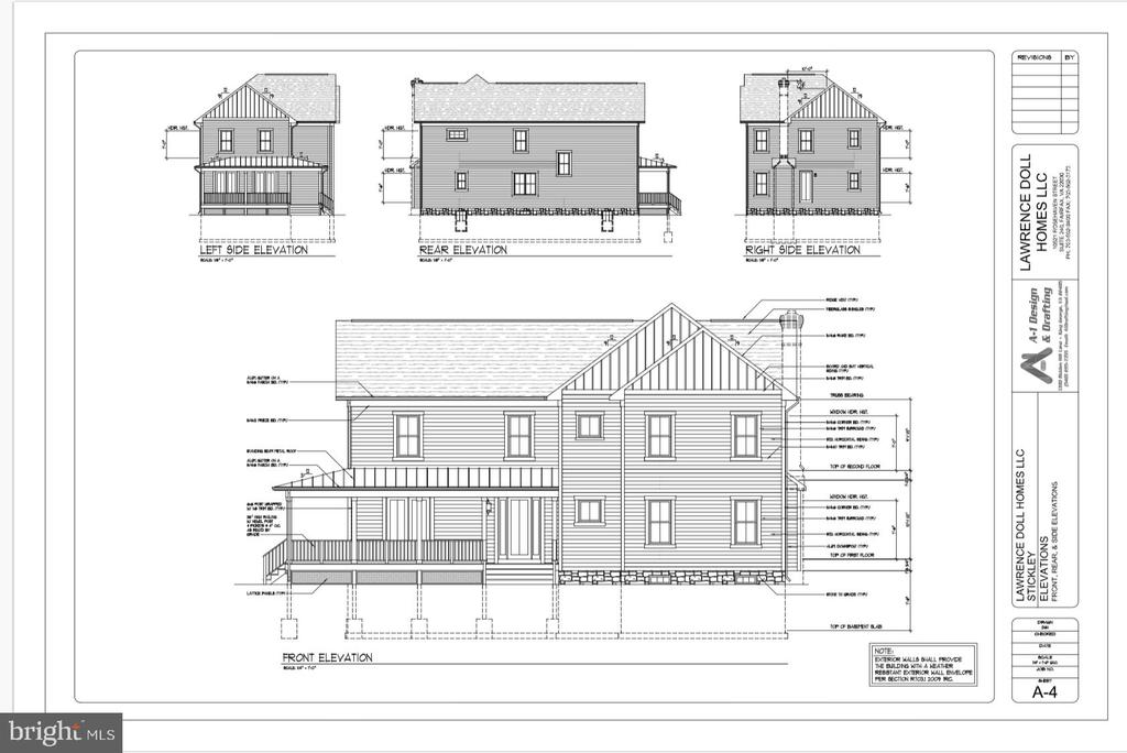 Exterior Front - LOT 55A VINE STREET, HERNDON