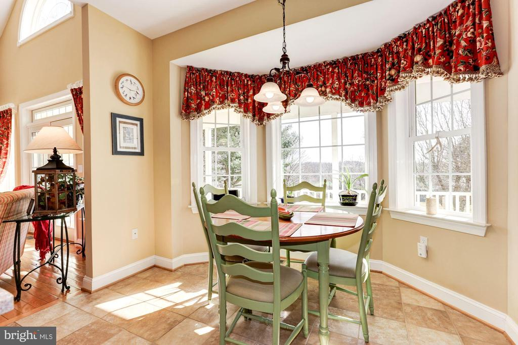 Table space on main level - 2407 FLAG MARSH RD, MOUNT AIRY