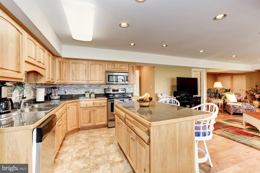 Lower level second kitchen - 2407 FLAG MARSH RD, MOUNT AIRY