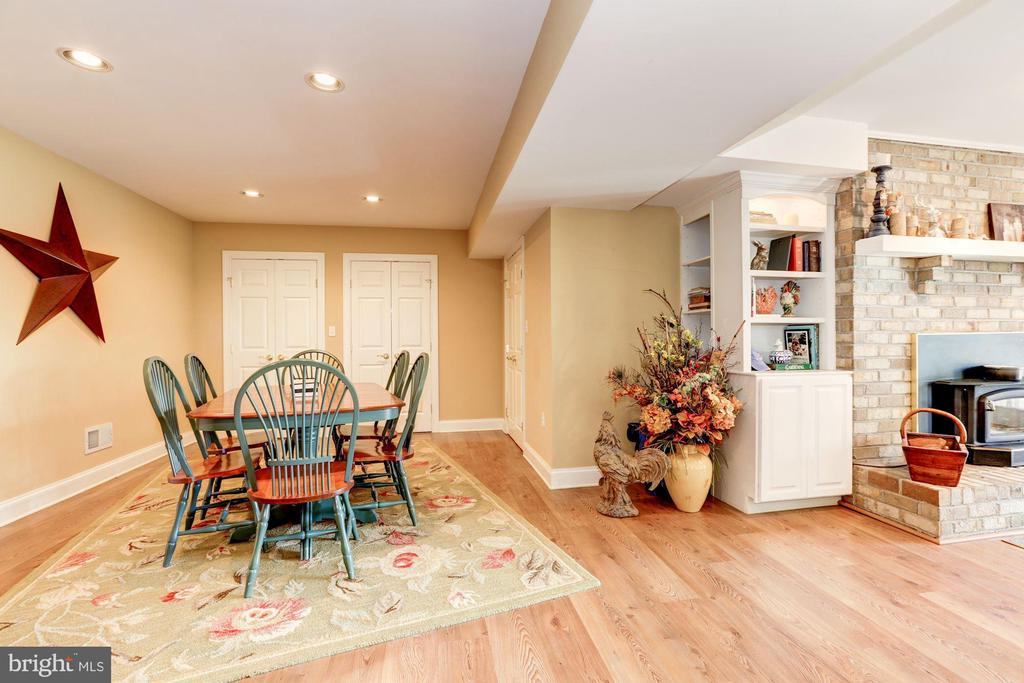 Lower level additional space - 2407 FLAG MARSH RD, MOUNT AIRY