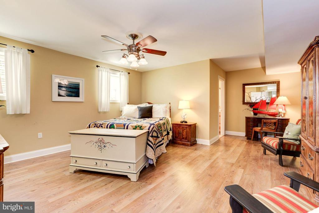 Lower level owner's suite - 2407 FLAG MARSH RD, MOUNT AIRY