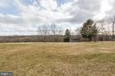 View of the backyard - 2407 FLAG MARSH RD, MOUNT AIRY