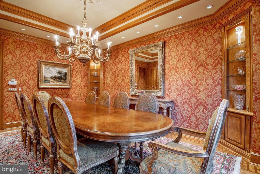 Formal Dining Room - 896 ALVERMAR RIDGE DR, MCLEAN
