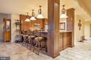 Lower Level Kitchen - 896 ALVERMAR RIDGE DR, MCLEAN
