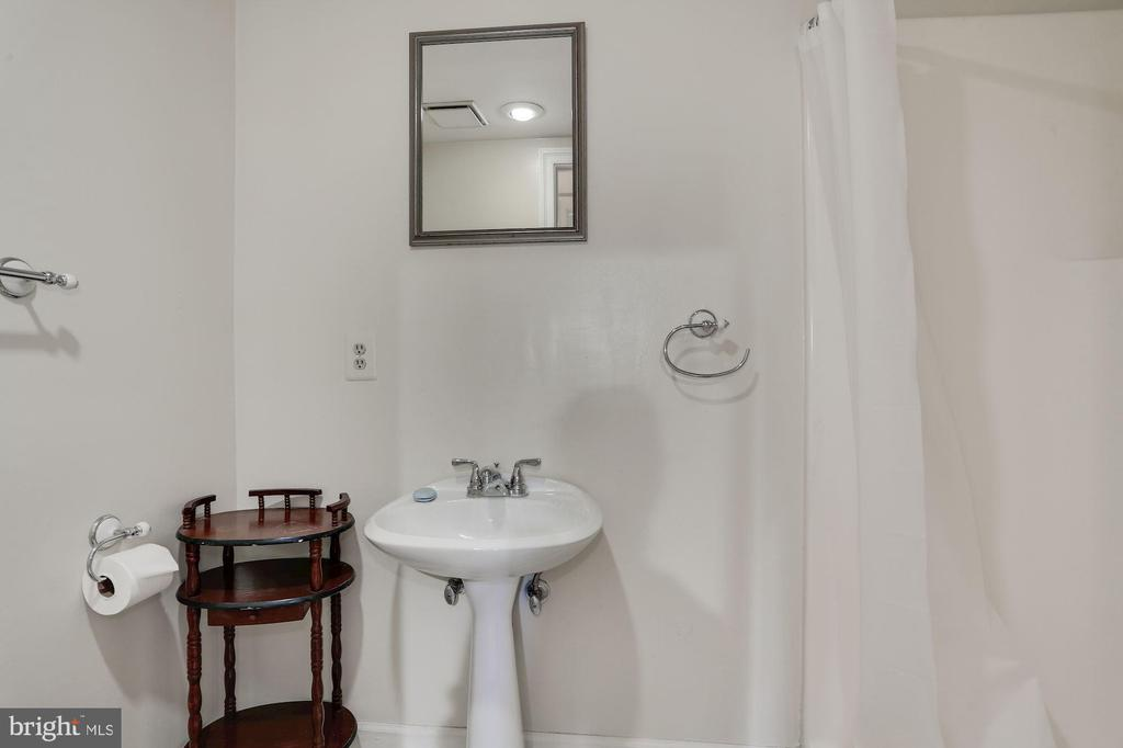Lower level bath - 1412 COVENTRY LN, ALEXANDRIA