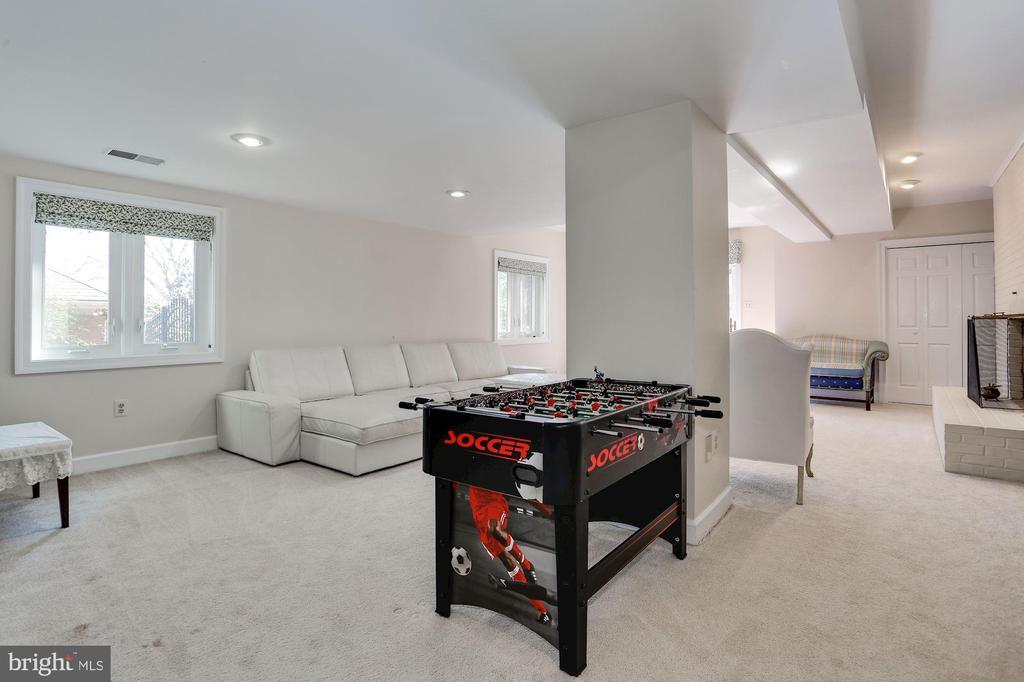 Lower level rec room - 1412 COVENTRY LN, ALEXANDRIA