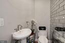 Main level powder room - 1412 COVENTRY LN, ALEXANDRIA