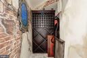 Lower level wine cellar - 1412 COVENTRY LN, ALEXANDRIA
