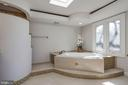 Master bath spa tub - 1412 COVENTRY LN, ALEXANDRIA