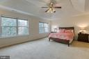 Gigantic master suite with trey ceiling - 118 NORTHAMPTON BLVD, STAFFORD