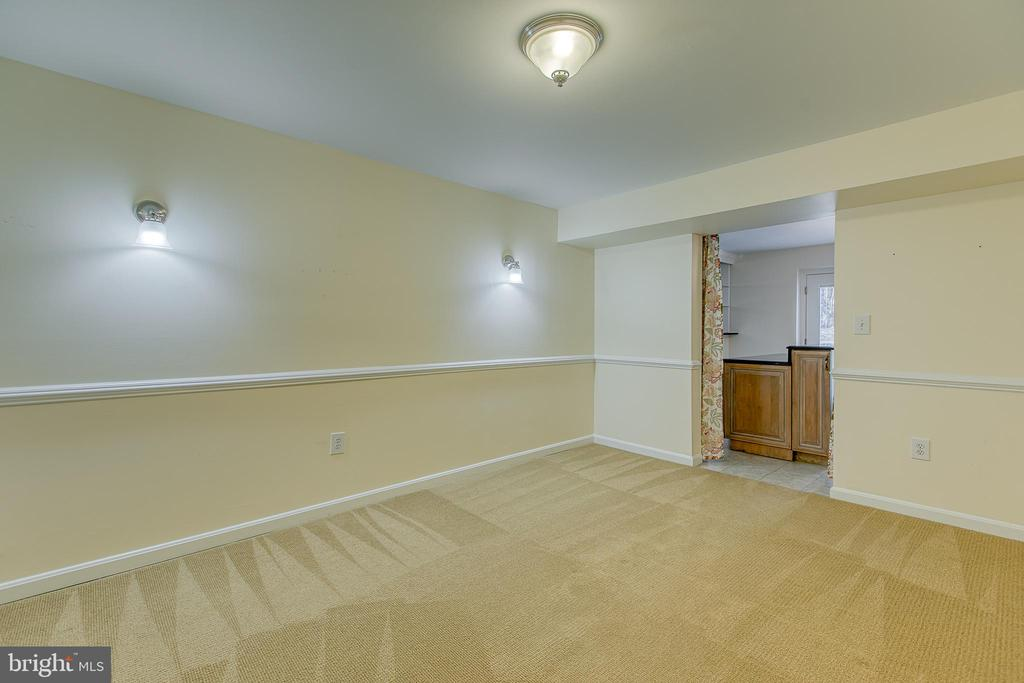Basement bonus/flex room (NTC bedroom) - 118 NORTHAMPTON BLVD, STAFFORD