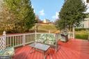 Freshly painted two tier deck - 118 NORTHAMPTON BLVD, STAFFORD