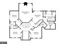 Second floor plan - 16080 GOLD CUP LN, PAEONIAN SPRINGS