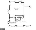 Basement floor plan - 16080 GOLD CUP LN, PAEONIAN SPRINGS