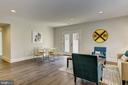Coretec LVF floors, double doors to side yard - 4856 33RD RD N, ARLINGTON