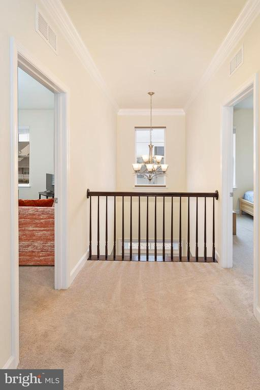 Upstairs Landing View - 6109 HUNT WEBER DR, CLINTON