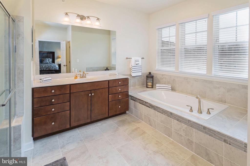 Mater Bathroom with Tub - 6109 HUNT WEBER DR, CLINTON